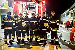 2016-11-12 Brandsicherheitswache beim Perchtenlauf