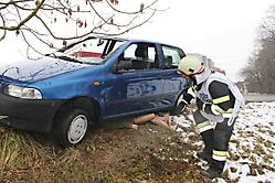 2016-02-14 Übung - Verkehrsunfall mit Menschenrettung
