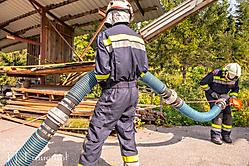 2016-09-11 Übung Holzstapelbrand